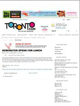 Toronto.com - Open for Lunch