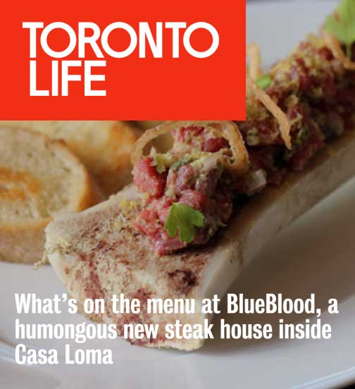 Toronto Life - 09.17 - What's on the menu at BlueBlood Steakhouse