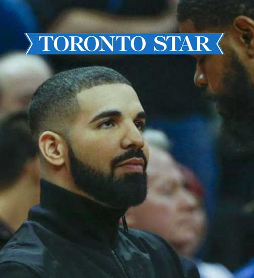Toronto Star - 10.17 - Drake Celebrates His 31st Birthday at Casa Loma Dinner