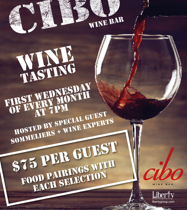 WINE TASTING AT CIBO WINE BAR-CG