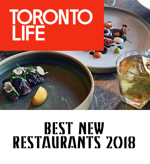 Toronto Life - 03.18 - Best New Restaurants 2018