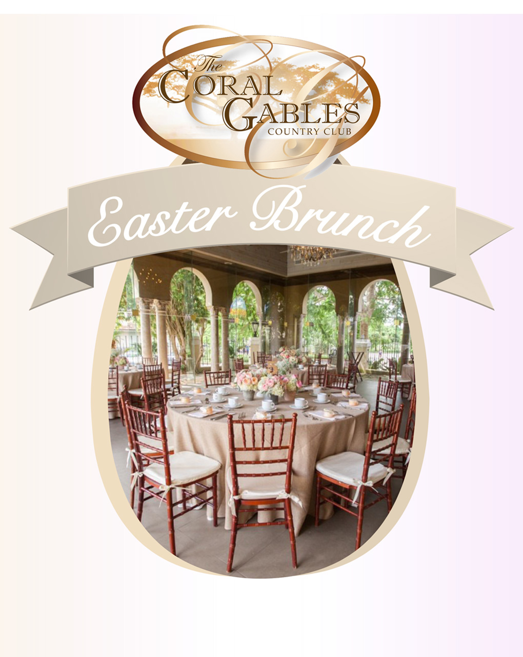 EASTER BRUNCH AT CORAL GABLES COUNTRY CLUB