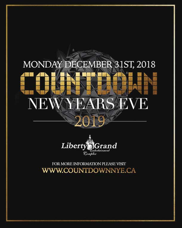 NEW YEAR'S EVE AT LIBERTY GRAND