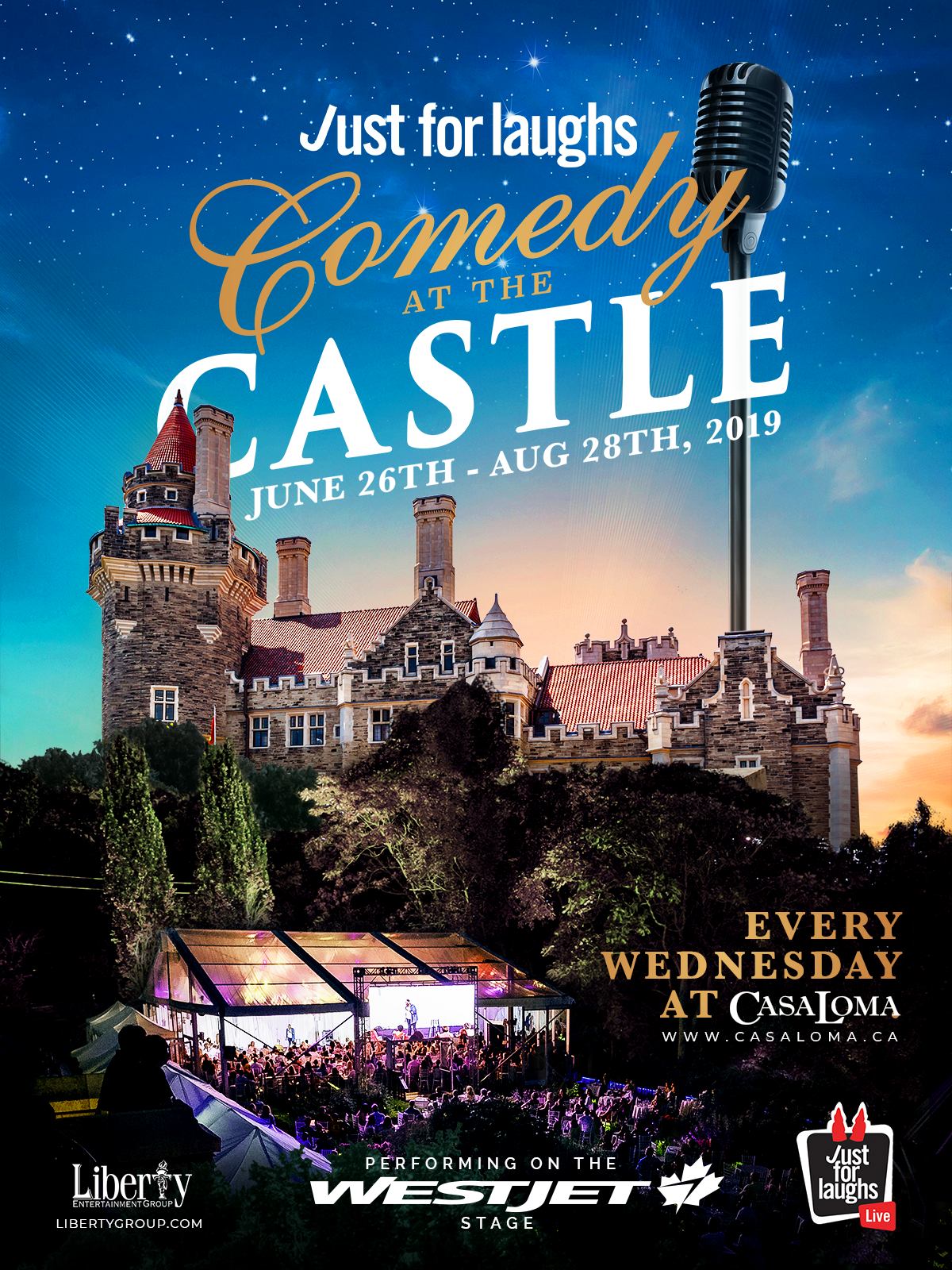 COMEDY AT THE CASTLE