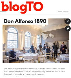 BlogTo - Don Alfonso 1890 Opens First North American Location