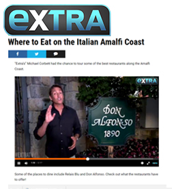 Extra TV- Where to Eat