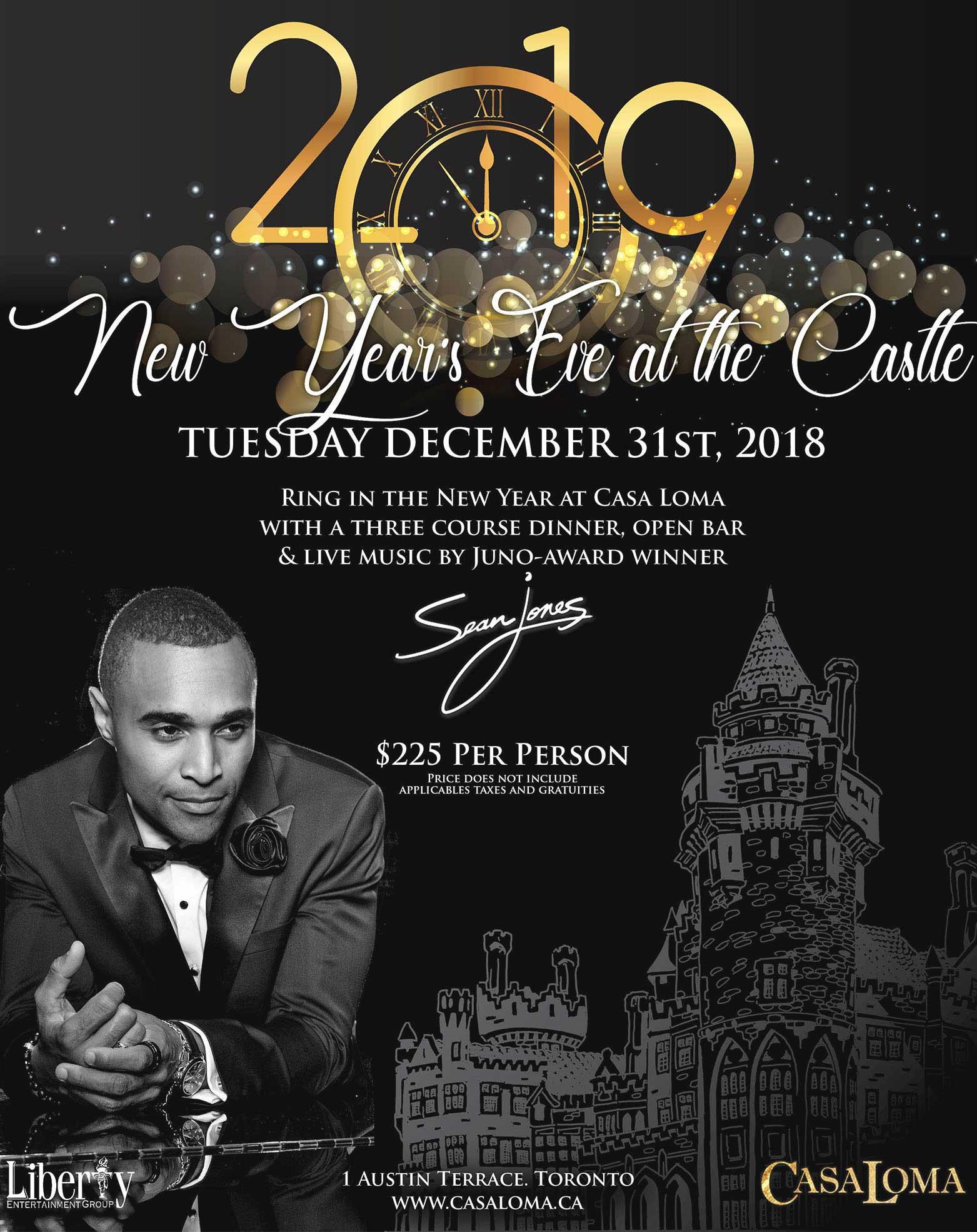 New Year's Eve at Casa Loma