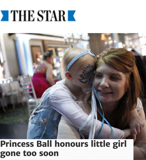 Princess Ball honours little girl gone too soon