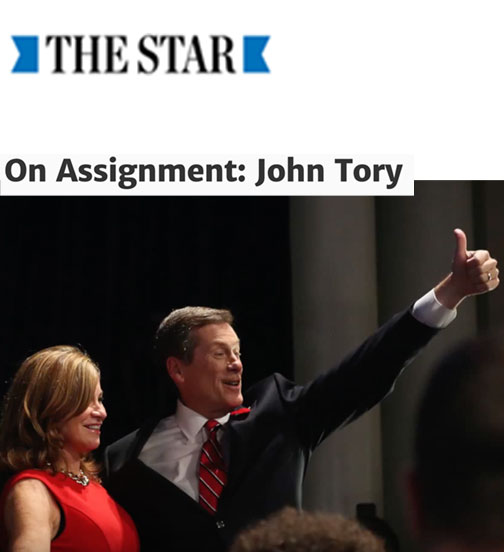 On Assignment: John Tory