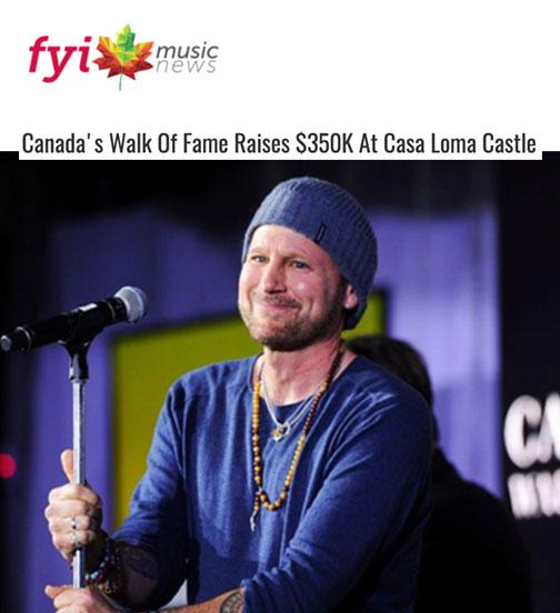 Canada's Walk Of Fame Raises $350K At Casa Loma Castle