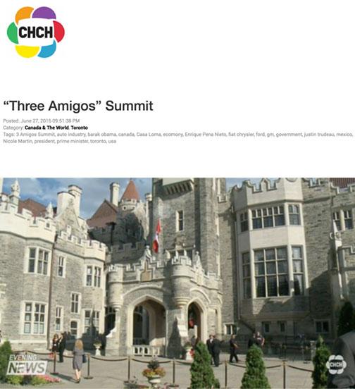 """Three Amigos"" Summit"