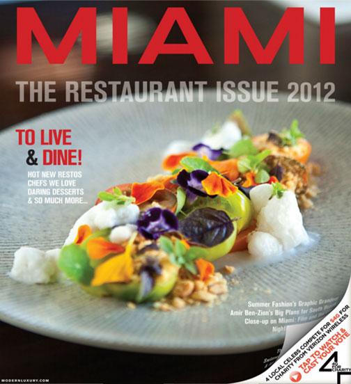 Miami Magazine Restaurant Guide