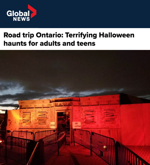 Road trip Ontario: Terrifying Halloween haunts for adults and teens