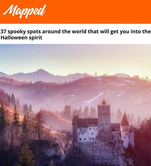 37 spooky spots around the world that will get you into the Halloween spirit