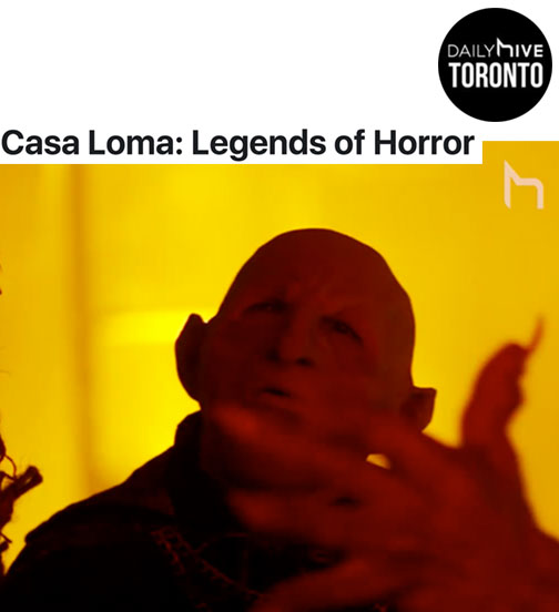 Casa Loma's haunted house is on now until Halloween