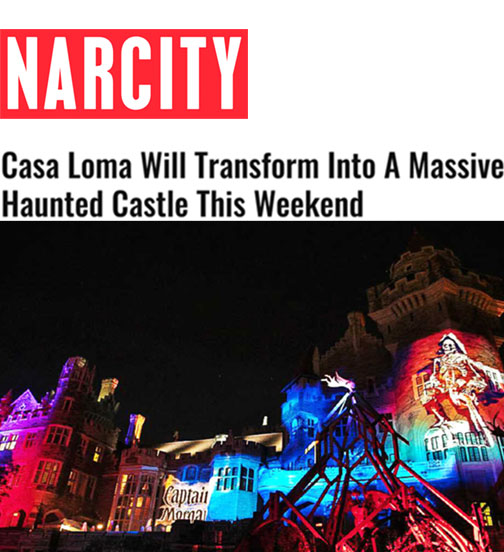 Casa Loma Will Transform Into A Massive Haunted Castle This Weekend