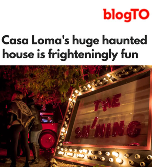 Casa Loma's Haunted House is Frighteningly Fun