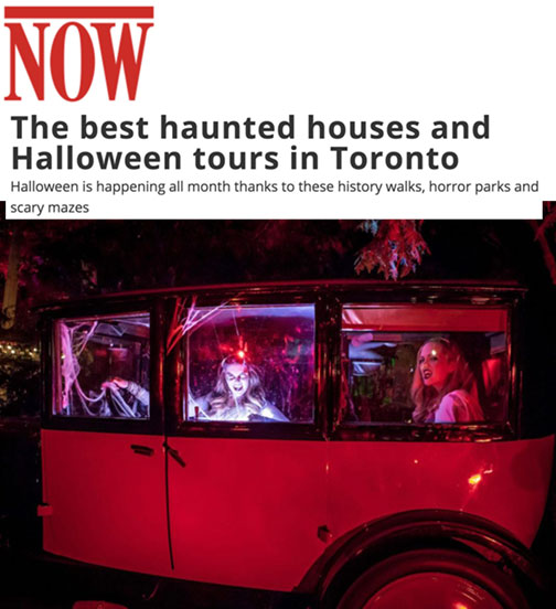 The best haunted houses and Halloween tours in Toronto