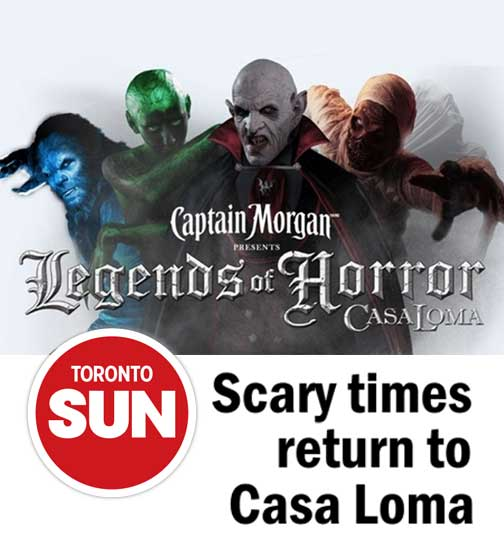 Scary times return to Casa Loma