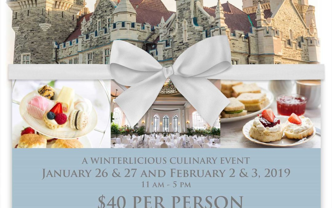 Afternoon Tea  – A Winterlicious Culinary Event