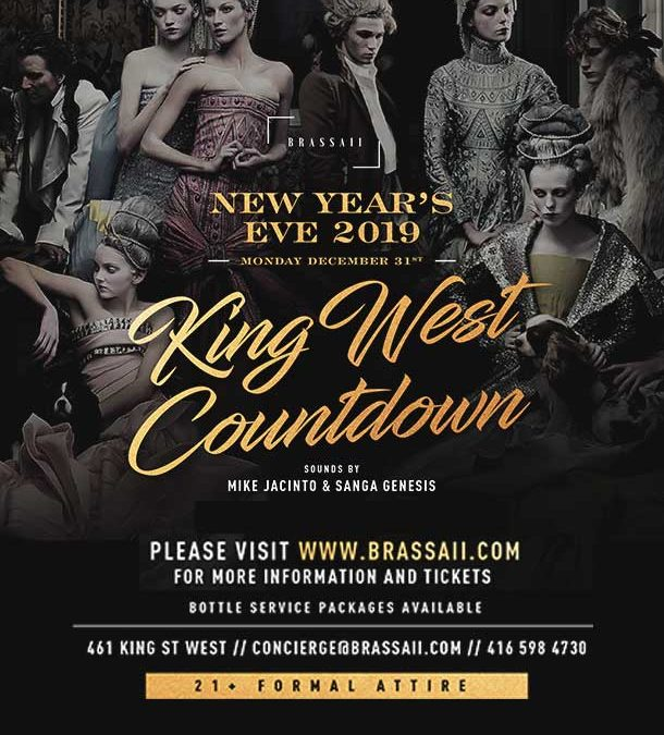 BRASSAII NEW YEAR'S EVE 2019