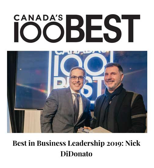 Canada's Best 100 2019