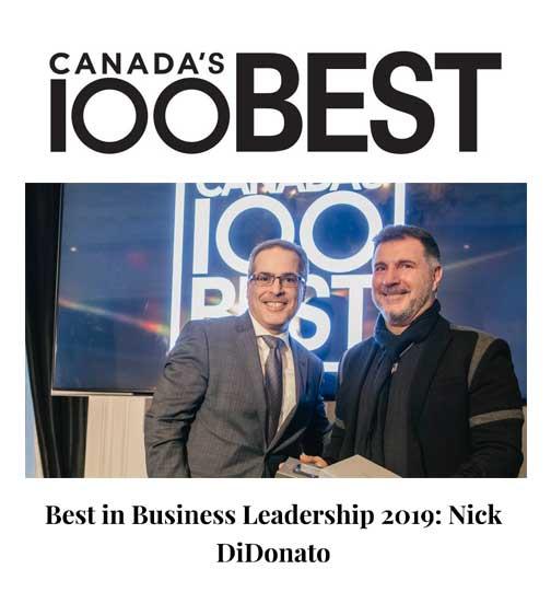 Canada's Best 100 2019