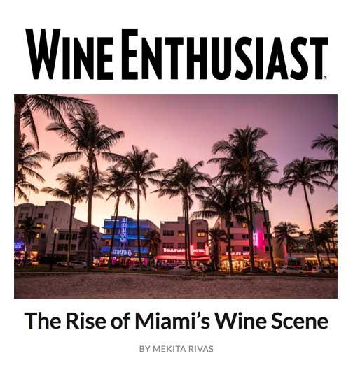 Wine Enthusiast Miami