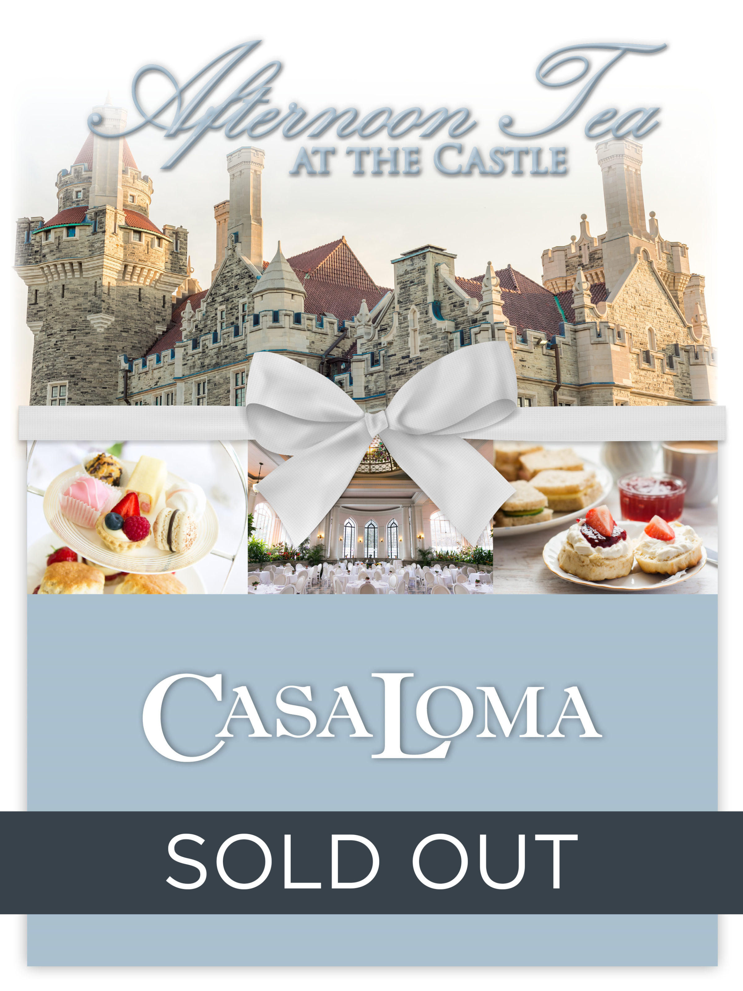 Afternoon Tea at the Castle