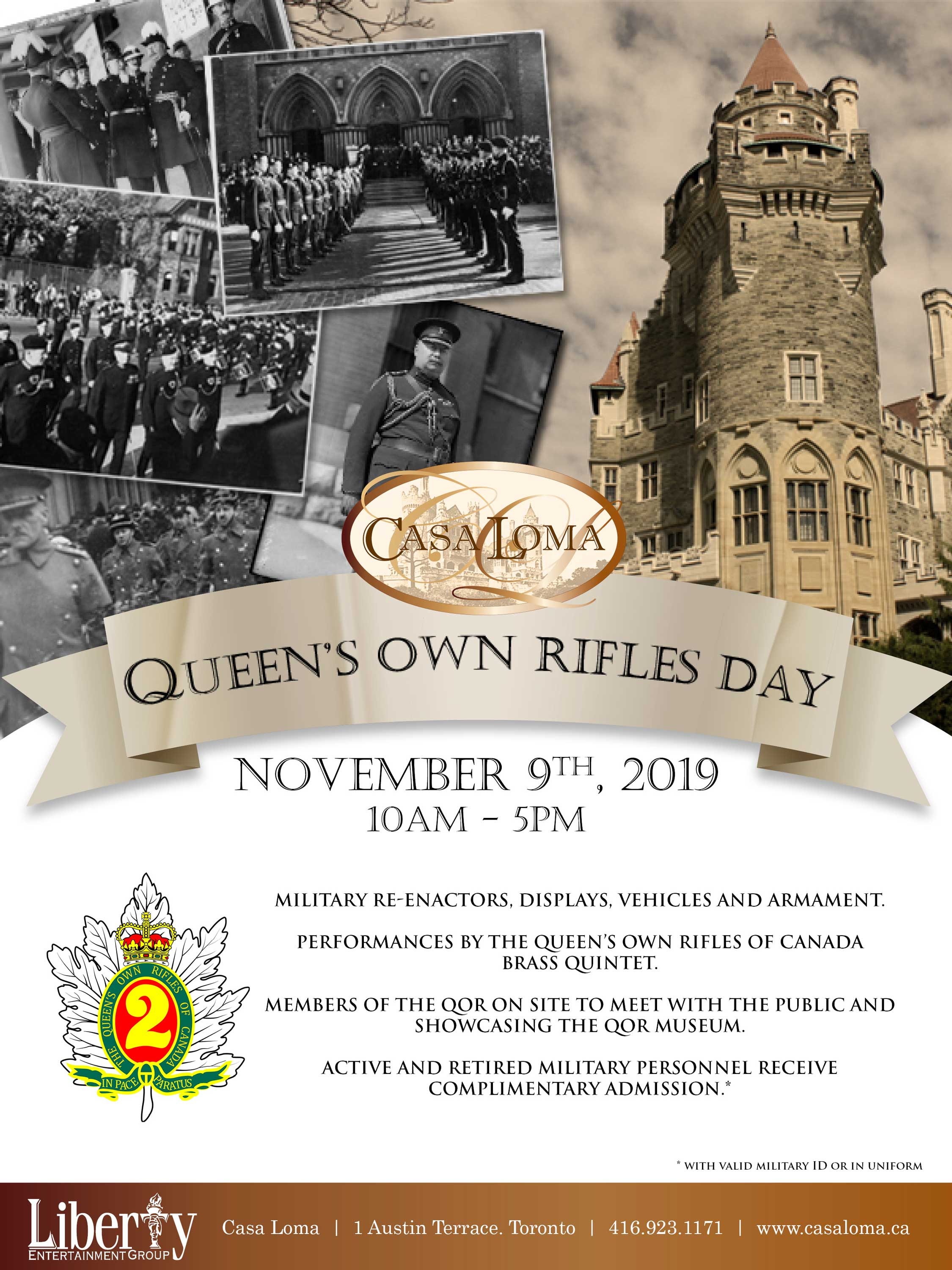 QUEEN'S OWN RIFLES DAY
