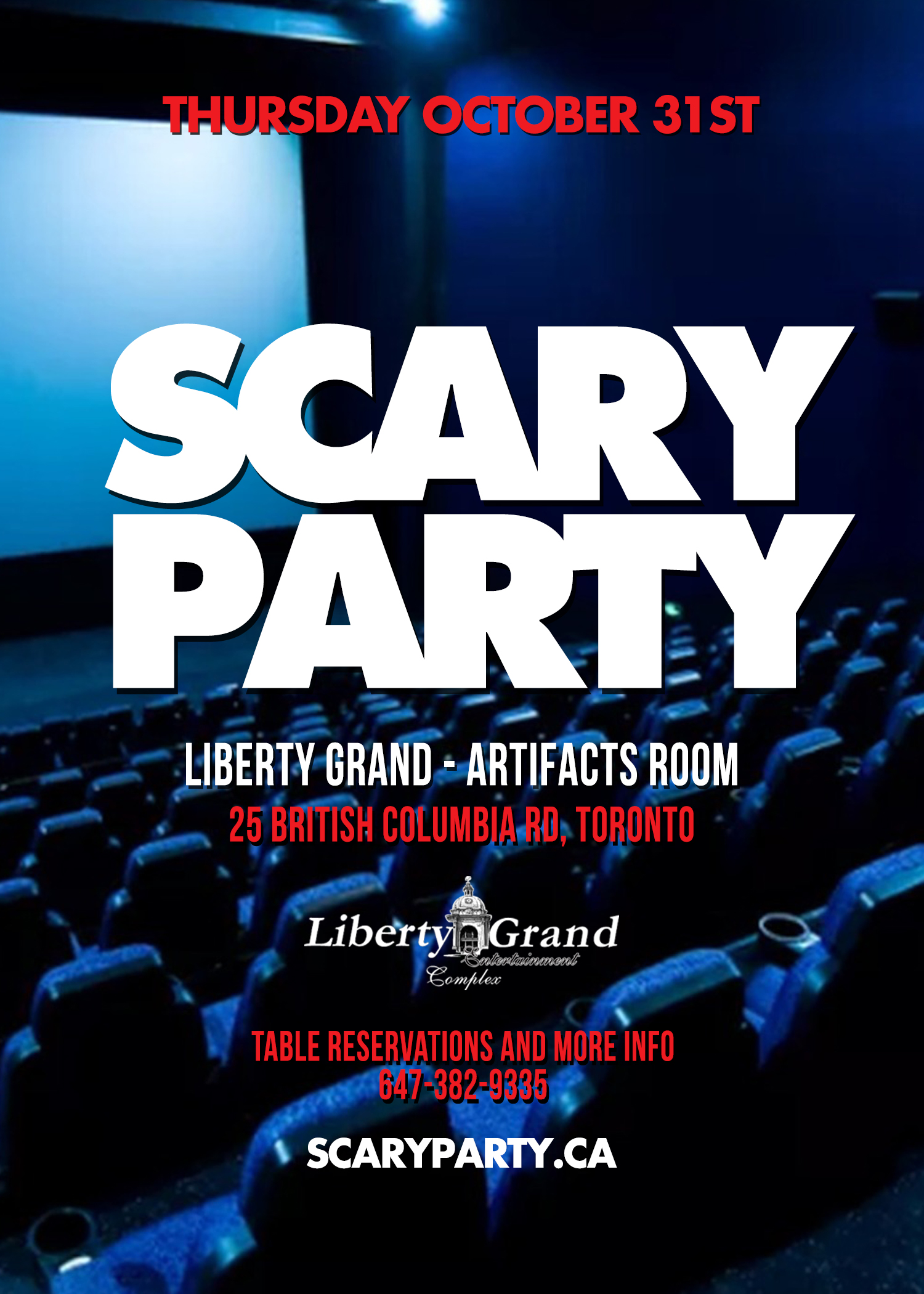SCARY PARTY